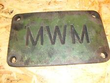 Motordeckel Deckel MWM Motor KDW 615 E  Fendt F20 Hela D 20/18 Traktor F 20 (a1)