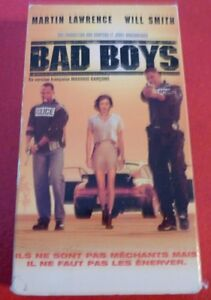 Rare-VHS-French-Movie-Mauvais-Garcons-Bad-Boys-Will-Smith-Martin-Lawrence