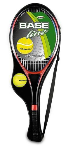 Aluminium Tennis Racket Set 2 Rackets & Ball Summer Outdoor Fun Play Set