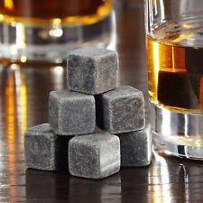 6Pcs Whisky Ice Stones Drinks Cooler Cubes Rocks Granite Decanti