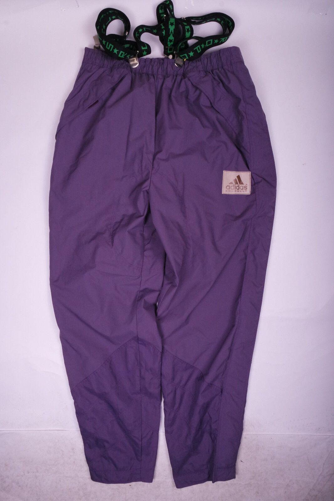 Adidas Equipment Skihose Schneehose Hose Vintage Retro Lila Gr. D58   XL