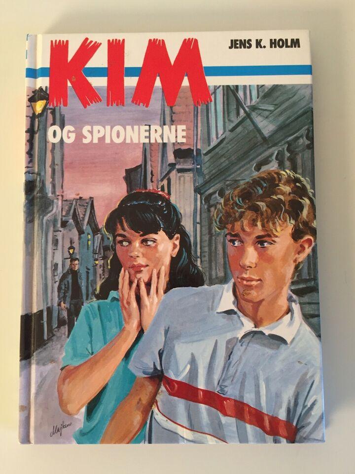 Kim og spionerne, Jens K. Holm, genre: ungdom