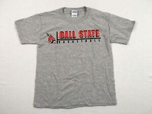 NEW-Gildan-Ball-State-Cardinals-Short-Sleeve-Shirt-Multiple-Sizes