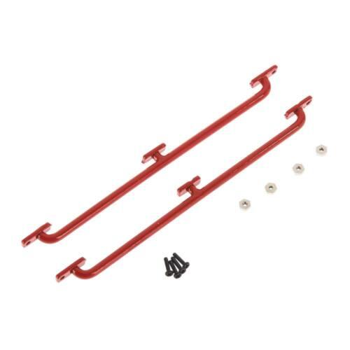 RC4WD Side Body Guards 1//18 Gelande D90 REd VVV-C0276