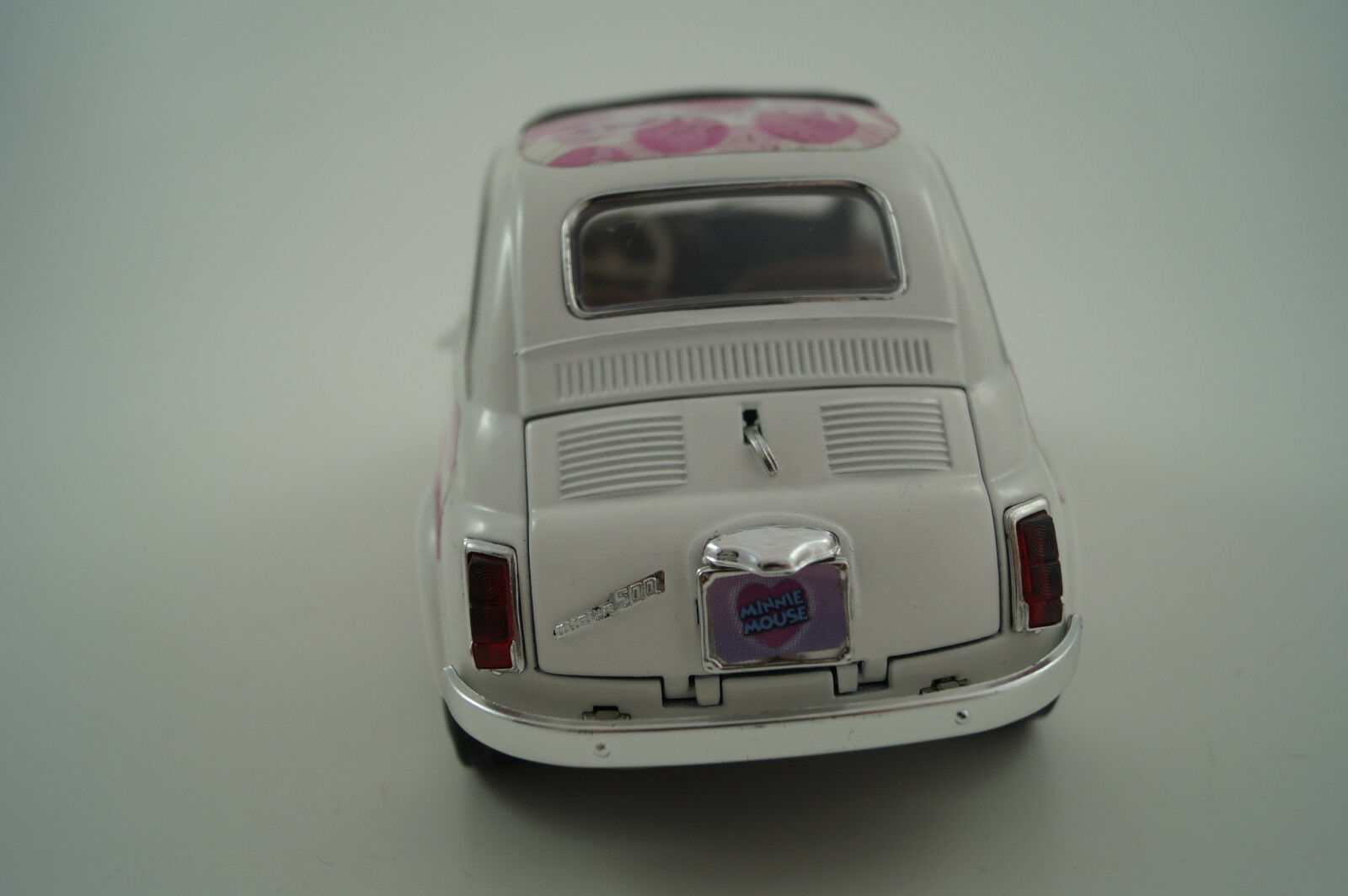 BBURAGO BURAGO voiture miniature 1 1 1 18 Fiat 500 Minnie Mouse 4d261a