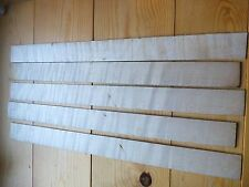 VIOLIN RIBS, SET OF 5, FINE AGED FLAMED MAPLE, CRAFTED TO SIZE, UK SELLER!