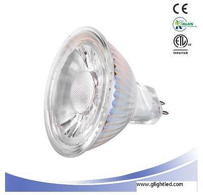 LED  MR16 GU5.3 AC/DC12V 5W Dimmable 450lm COB