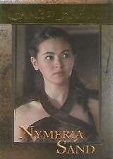 "Game of Thrones Season 6: No. 80 ""Nymeria Sand"" GOLD Parallel Base Card #040/150"