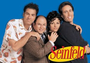 SEINFELD-TV-Show-PHOTO-Print-POSTER-Series-Art-Jerry-Kramer-Elaine-George-001