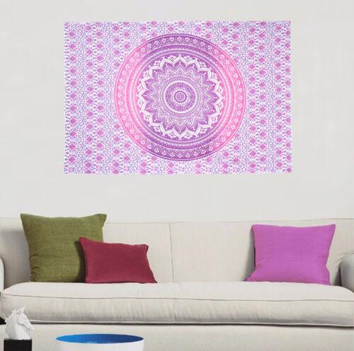 Wall Tapestry Indian Boho Decor Mandala Poster Throw Cotton Wall Hanging Poster