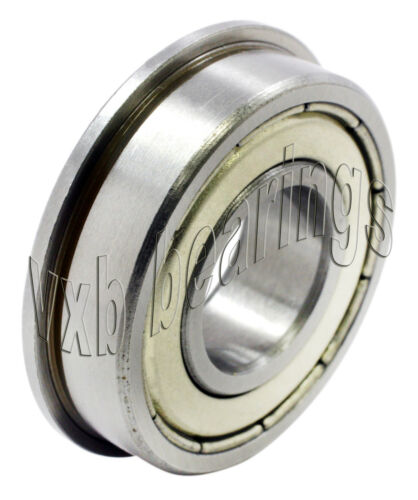 SF696ZZ Flanged 6x15x5 6mm//15mm//5mm SF696Z Stainless Miniature Ball Bearings