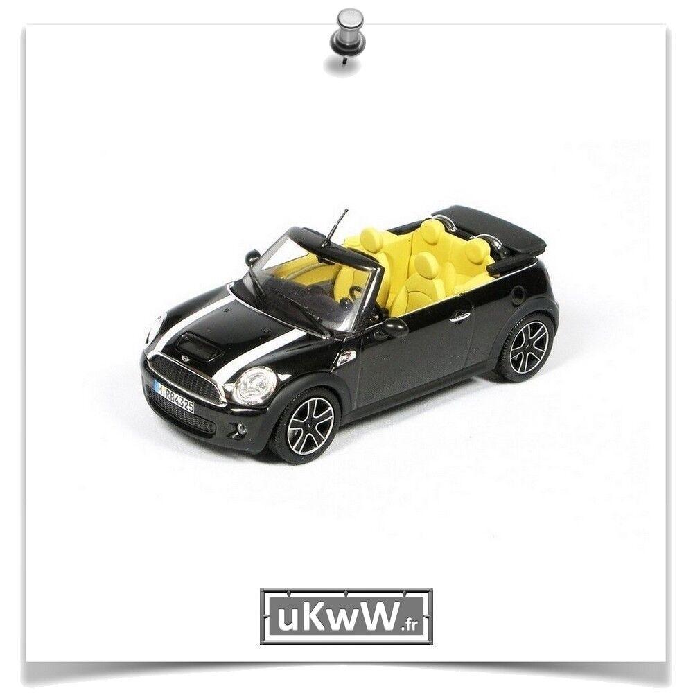 Le père Noël est avec vous tous les jours. Minichamps Minichamps Minichamps 1/43 Mini Cooper S cabriolet 2011 noir métallisé   D'être Très Apprécié Et Loué Par Les Consommateurs    Magasiner  5064dd