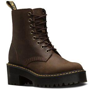 7 8 Women's Marten's 5 Shriver Size Brown Dr Hi Boots Cj Uk Beauty 6 Dark q6xx5dRwO