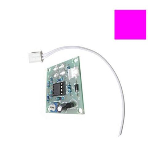 Power Wire LM358 Chip Breathing Light  Lamp Flash 12V Electronic DIY LEARN KIT