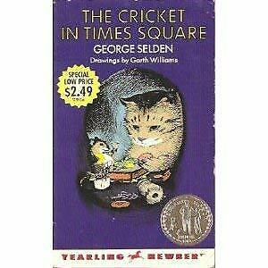 The Cricket in Times Square by Selden, George