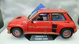 Miniature-car-auto-1-18-solido-renault-r5-turbo-model-diecast-miniatures
