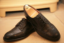 Trickers Men's Black Leather Brogues Shoes Size UK 7