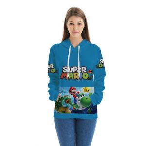 Anime-Super-Mario-3D-Hoodie-Men-Women-Kids-Casual-Pullover-Sweatshirt-Tops