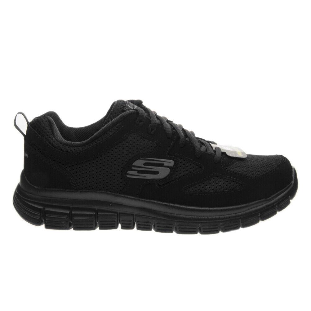 Sneaker Uomo Skechers 52635 BBK Autunnoinverno Nero 41