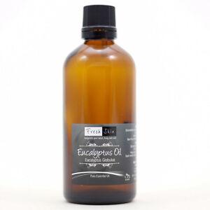 100ml Eucalyptus Pure Essential Oil