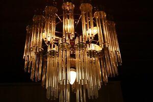 Kronleuchter Klein Xl ~ Xl rods layers chandelier kronleuchter deckenlampe sciolari