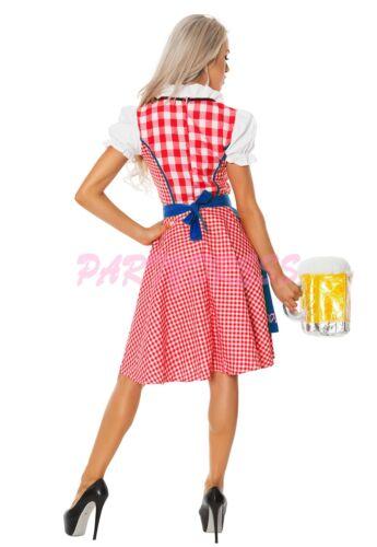 OP 8001 Ladies Costume Fancy Dress Oktoberfest German Heidi Beer Maid Bavarian
