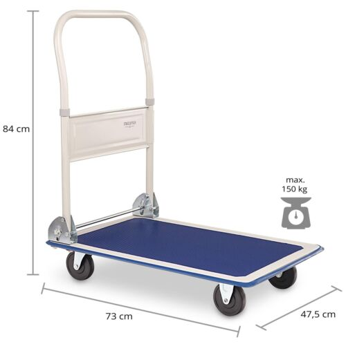 Plattformwagen Transportwagen Handwagen Trolley Sackkarre Lager Klappwagen 150kg