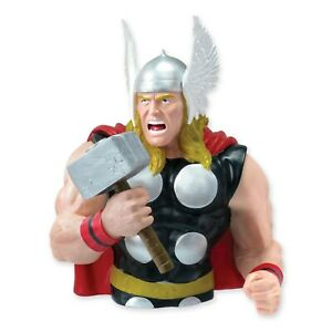 Tirelire-Thor-Avengers-Grande-Figure-Buste-Original-Neuf-Officiel-Marvel