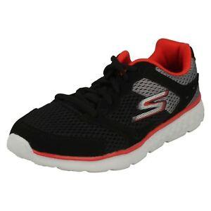 rojo Go cordones gris Run deporte ni 400 para Zodox Skechers con de Zapatillas Negro os ocasionales 97681 Zapatillas T5xpqUn