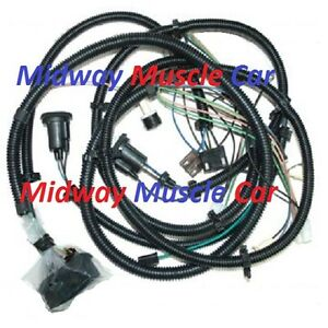 front end forward head light lamp wiring harness 79 80 79 camaro wiring harness