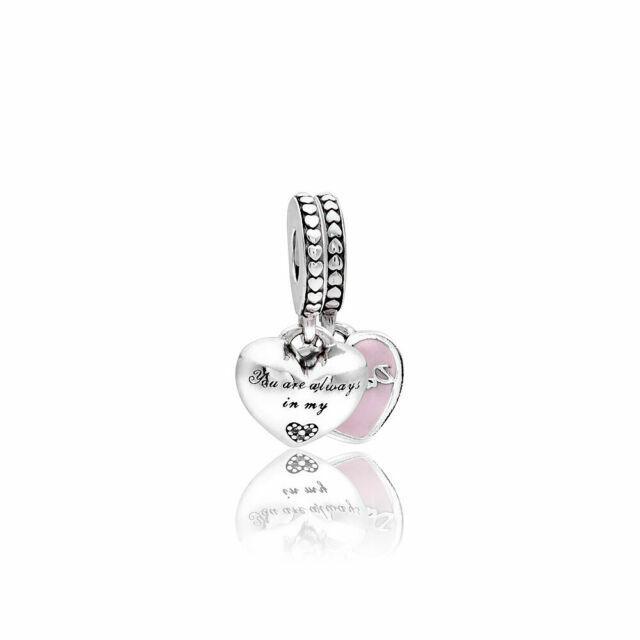 Pandora Charm Authentic 792072en40 Mother Daughter Dangle Charms Set For Sale Online Ebay