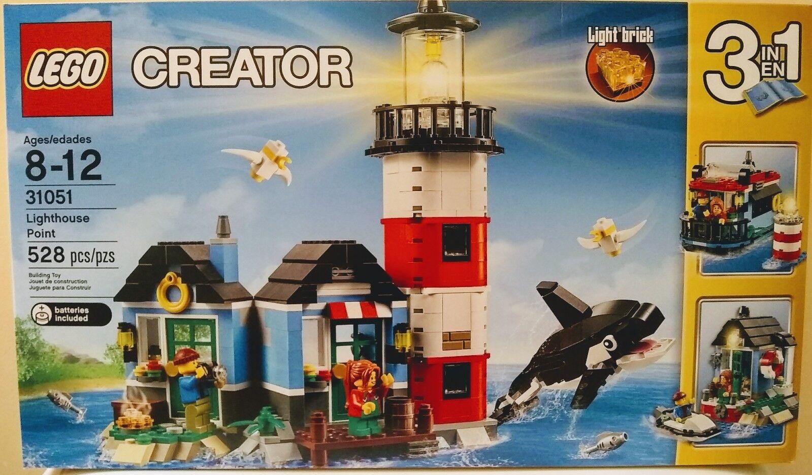 outlet online LEGO Creator 3-in-1 Lighthouse Point (31051) - Bre Bre Bre nuovo   vendendo bene in tutto il mondo