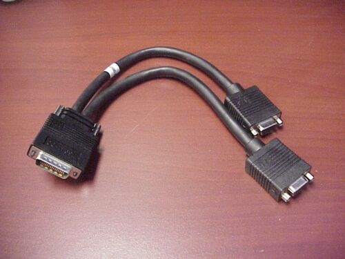 HP # 463023-001 Molex DMS60  Male Dual VGA Female Cable 8 inches