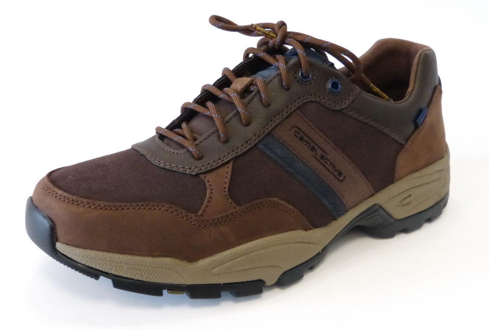Camel Active Sneaker Trekking 13830 05 brown Evolution Leder Schnür Halbschuh