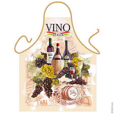ITALIAN APRON VINE DESIGN MADE IN ITALY