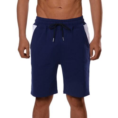 US Men Loungewear   Cotton Casual Pants Sports Gym Running Bodybuilding