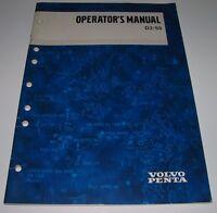 Operators Manual Volvo Penta D2-55 Betriebsanleitung Stand Januar 2002!