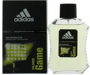 Pure-Game-by-Adidas-for-Men-EDT-Cologne-Spray-3-4-oz-New-in-Box