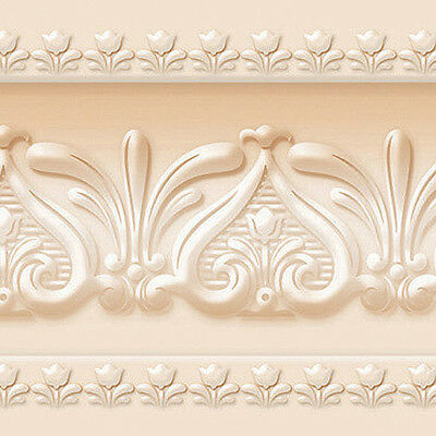 Cream Wallpaper Borders Victorian Architectural Self Adhesive