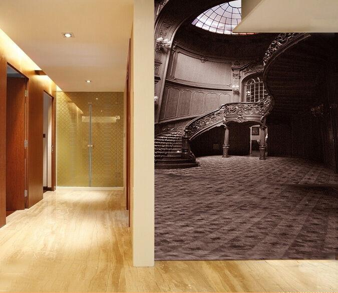 3D Scala 4 Parete Murale Foto Carta da parati immagine sfondo muro stampa