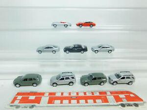 Bn182-0-5-9x-de-alta-velocidad-h0-1-87-metal-auto-Porsche-Mercedes-Benz-mb-Neuw