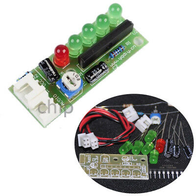 3.5V-12V LED Indicating Audio Level Meter Level Indicator DIY Kit for Arduino