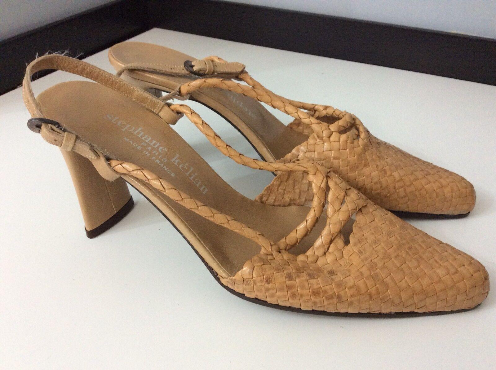 Stephane KELIAN cuero nuevo zapatos talla talla talla 37.5 Reino Unido 4.5 BNWOB  marcas de diseñadores baratos