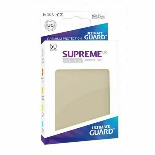 60 ULTIMATE GUARD SUPREME UX ORANGE JAPANESE Card SLEEVES Deck Protector small