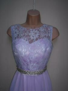 LILAC-PROM-DRESS-BALL-GOWN-40-039-S-DANCE-BRIDESMAID-EVENING-SIZE-6-COCKTAIL