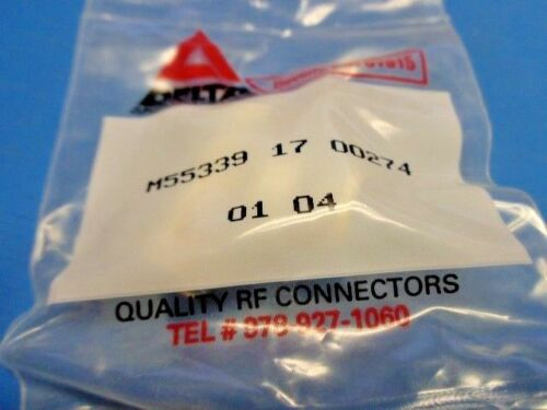 1 BNC CONNECTOR M55339//17-00274 TEE ADAPTER 1 MALE 2 FEMALE NEW