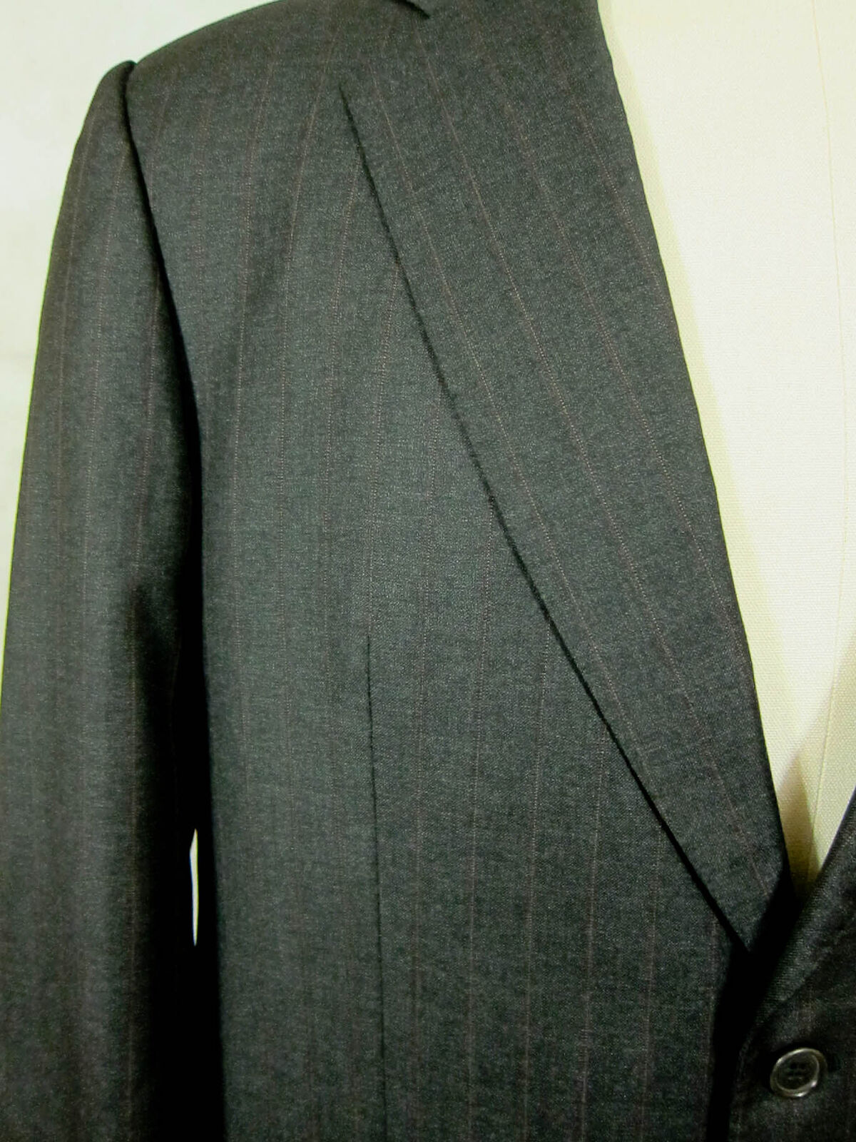 Wool Wbrique 38w Brooks Or Brothers amp; Parfait Rayure Suit Gris t6fwOxt0q