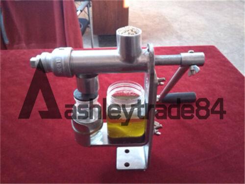 1PCS DIY Stainless Steel Manual Oil Press Machine Oil Expeller Machine