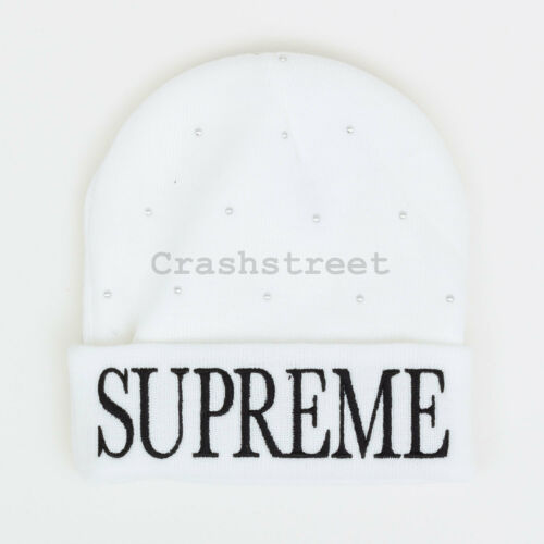 Supreme FW18 Studded Beanie cap camp logo shirt box hat tee knit hooded