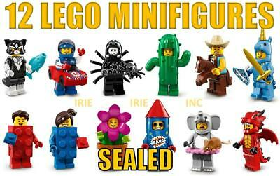 SEALED 12 Lego Minifigures Series 18 toy new gift mystery bag costume fun